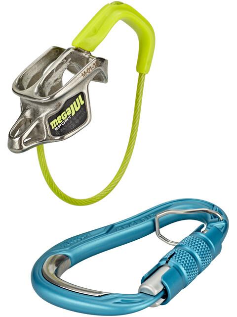 Edelrid Mega Jul Sport Belay Kit with Bulletproof Triple icemint